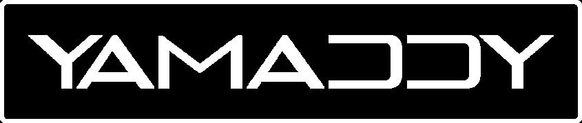 Yamaddy Logo weiß
