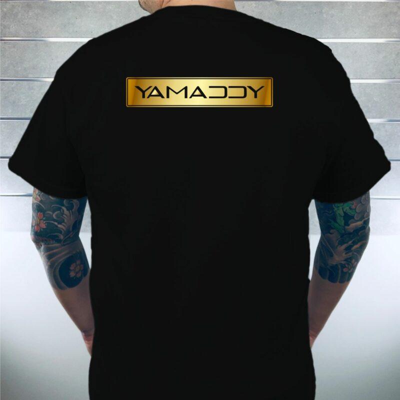 Yamaddy TShirt Ruecken Herren