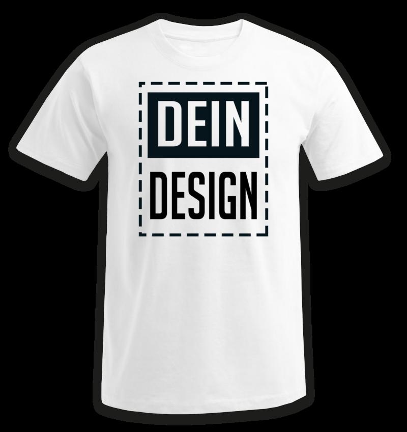 T-Shirt nach individuellem Design online bedrucken lassen