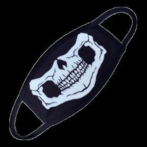 Gesichtsmaske Skelett